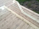 New timber decking installation -Bollington