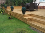 Decking install in Tytherington, Macclesfield
